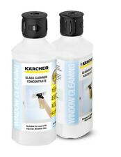 2 x Karcher Window Vac Glass Cleaner Concentrate RM500 0.5L
