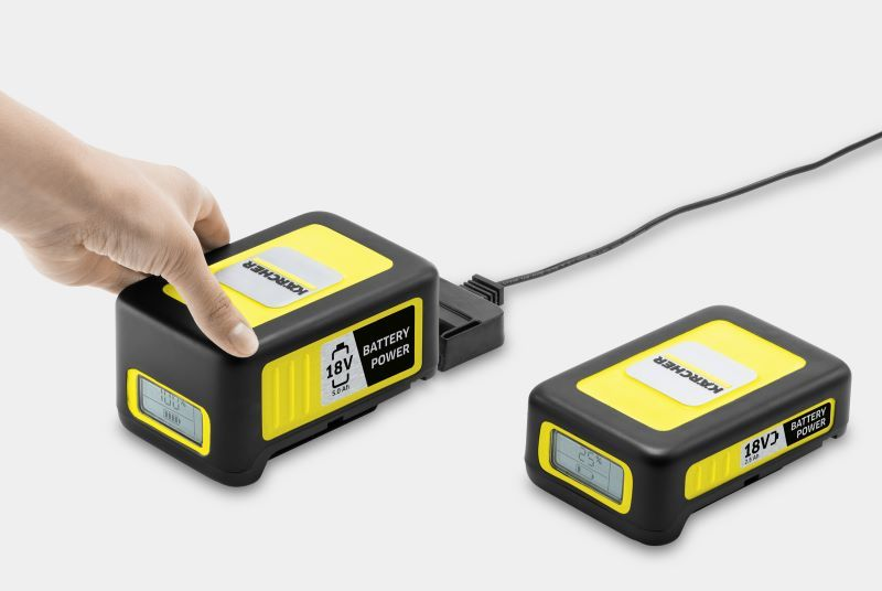 Karcher 2.5Ah Garden Tools Battery and Charger Set