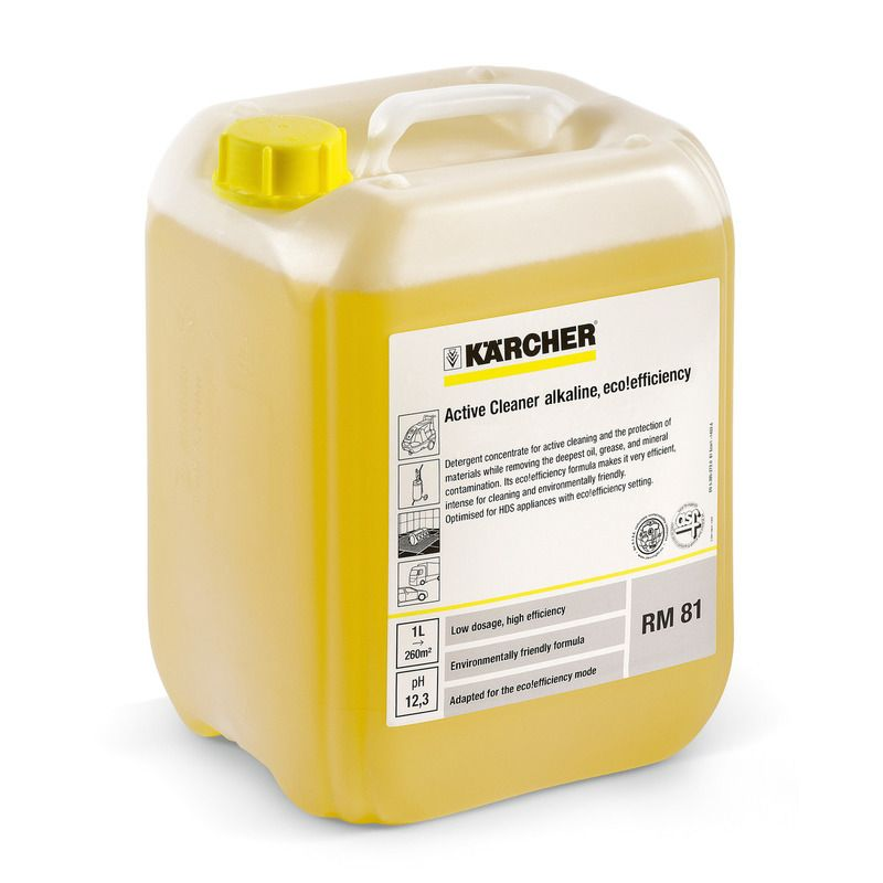 RM 81 Active Cleaner, alkaline ASF 10L